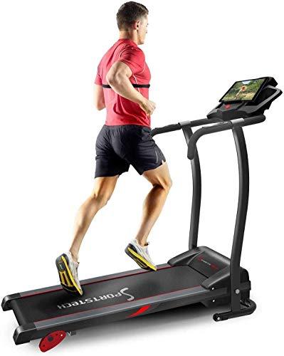 Sportstech Laufband für Zuhause & Büro...*