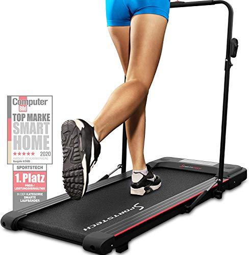 Sportstech Laufband für Zuhause & Büro...