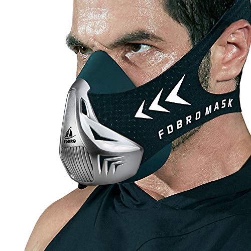 FDBRO Trainingsmaske Workout Maske- -...