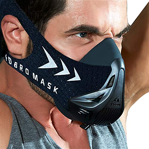 FDBRO Trainingsmaske Workout Maske- -...