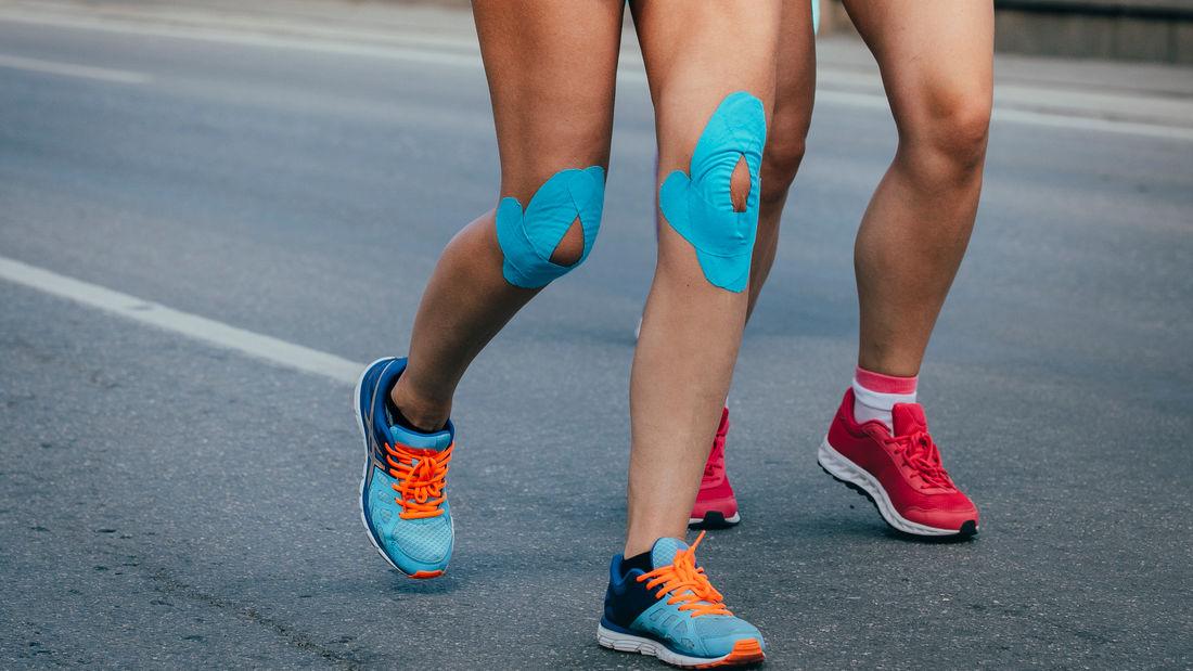 Kinesio Tape bei Laufverletzungen