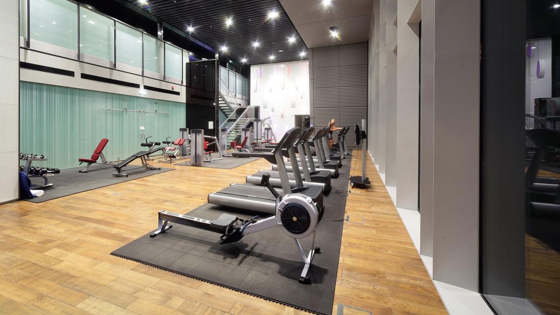 Bodenschutzmatte für Fitnessgeräte