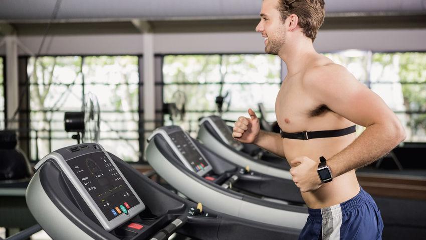 Brustgurt für Fitnessgeräte wie Laufband, Crosstrainer und Heimtrainer